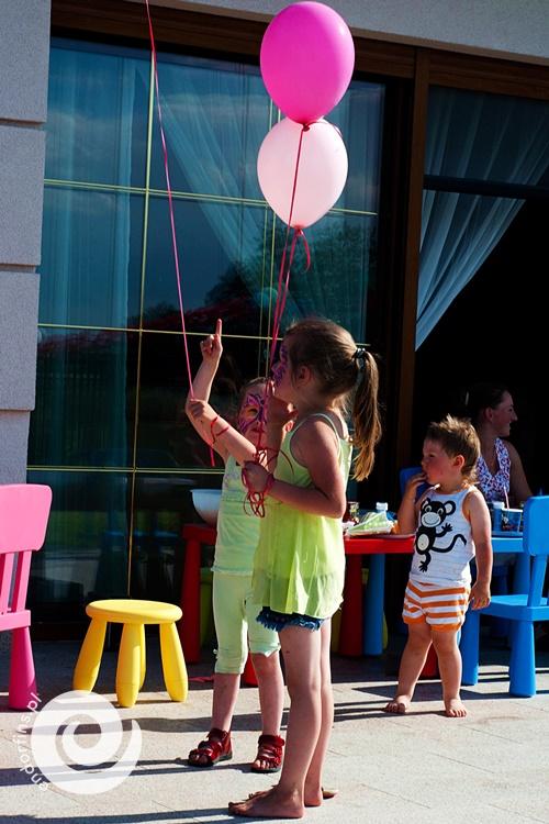 nabijanie balonów z helem łódź, konin, kalisz