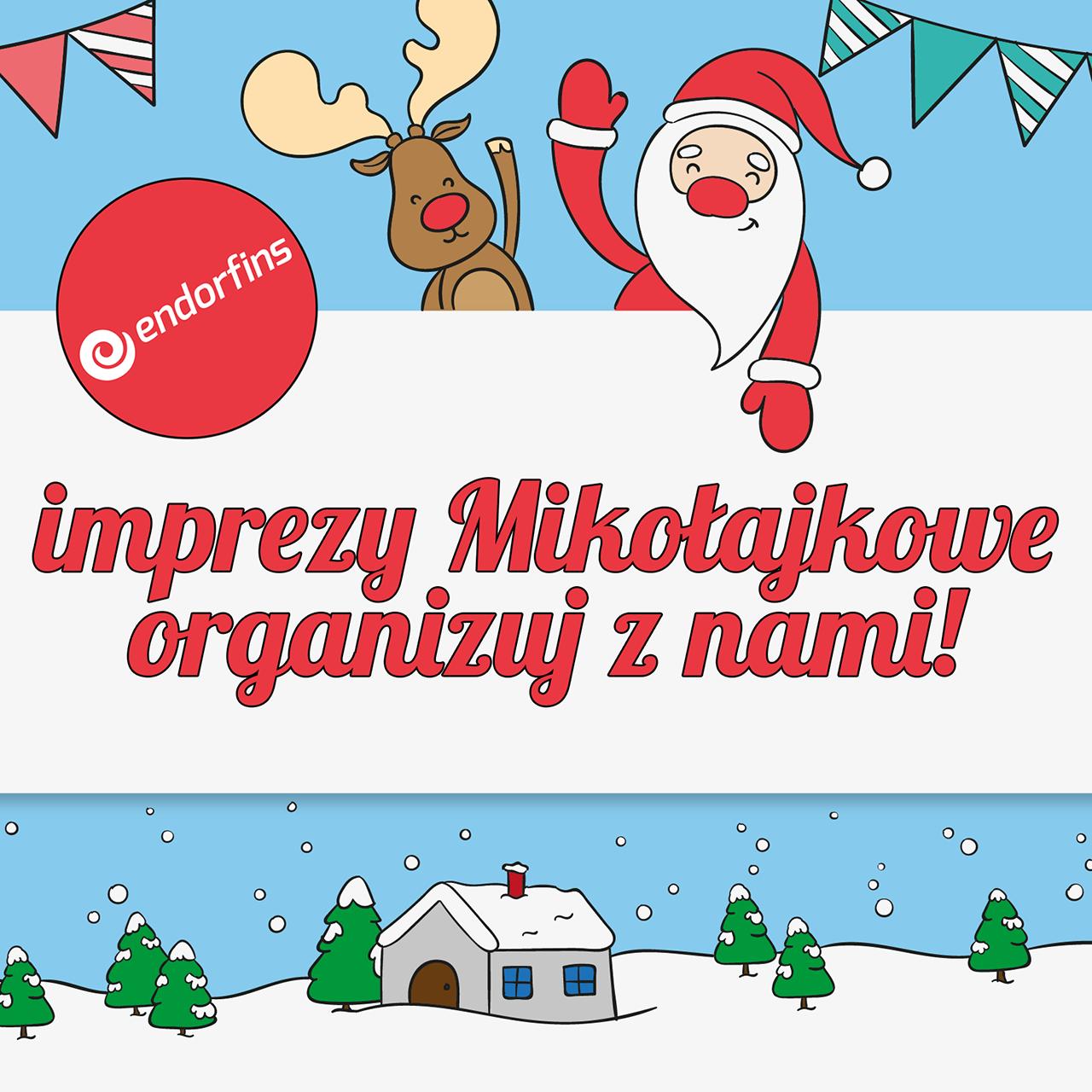 organizacja imprez mikołajkowych w Poznaniu, Koninie, Warszawie i Łodzi