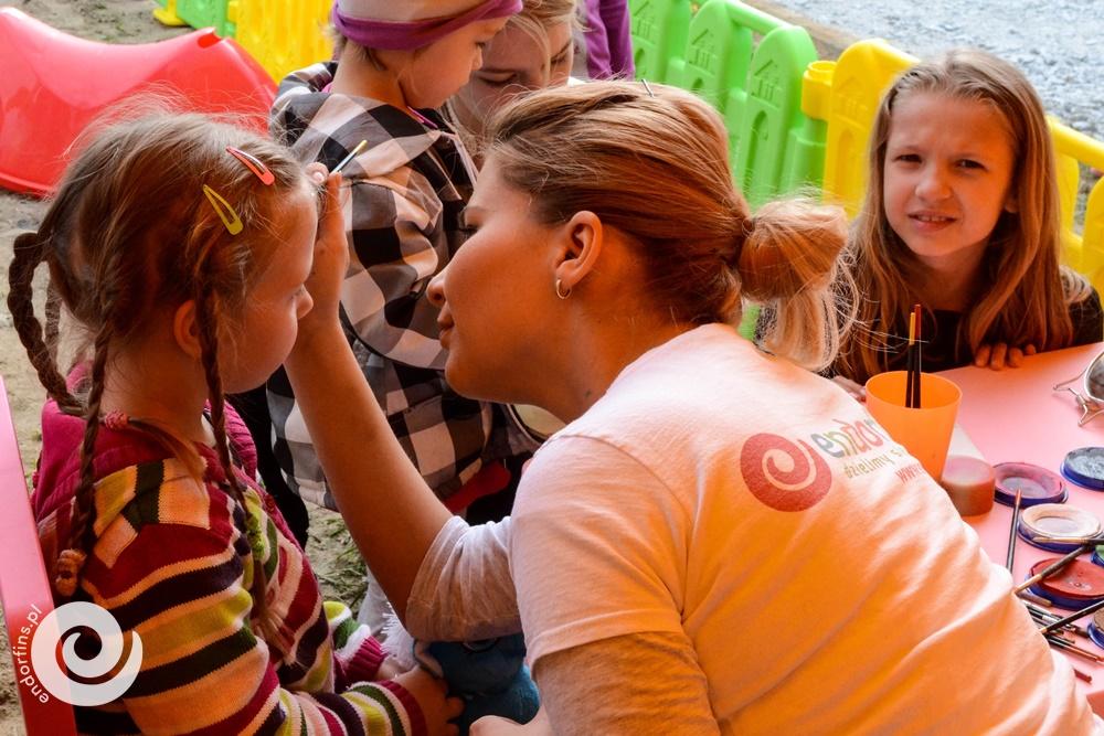 malowanie dziecięcych buziek poznań