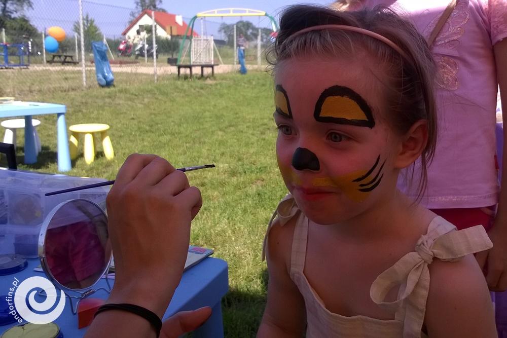 malowanie dziecięcych buziek konin