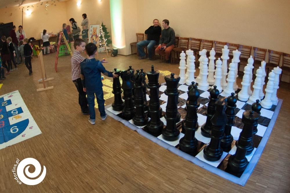 wielkie szachy - gra wielkoformatowa