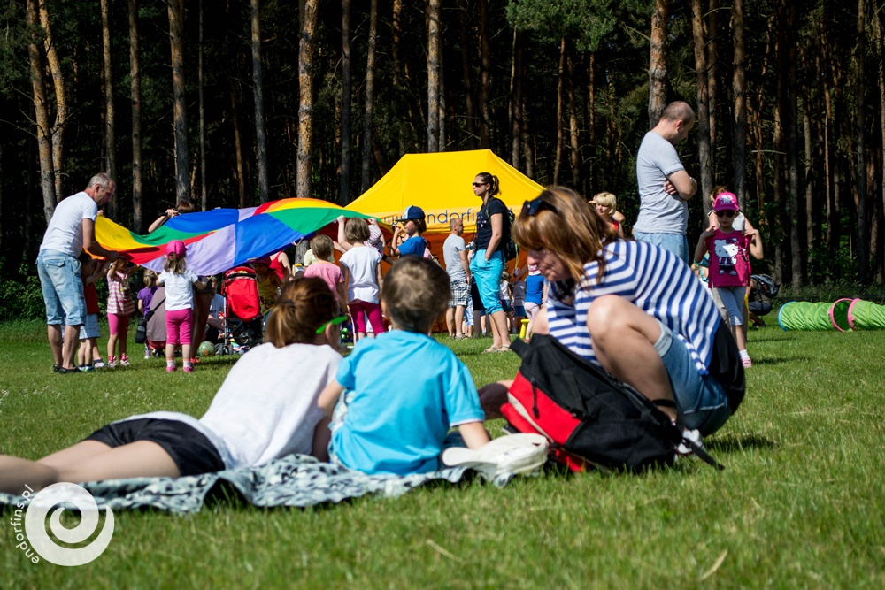 pikniki firmowe - strefa zabaw dla dzieci
