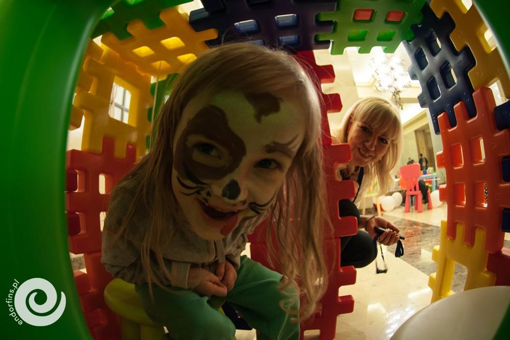 wielkie klocki wafle - zabawy dla dzieci