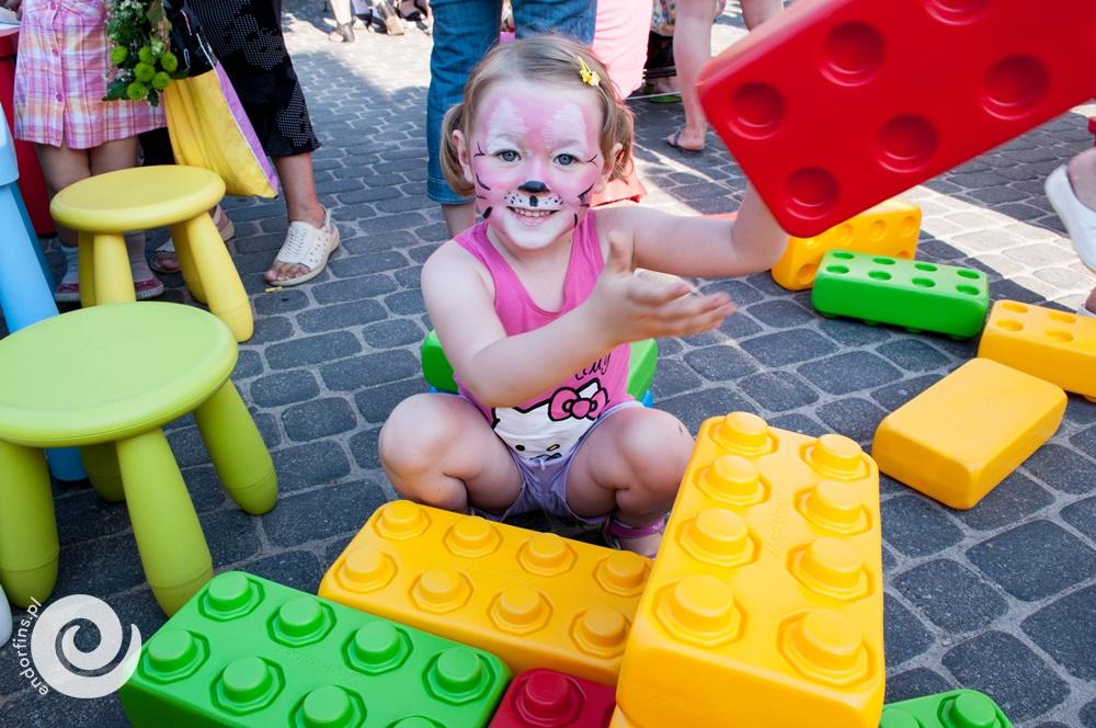 mega lego - strefa zabaw dla dzieci na impreze firmową