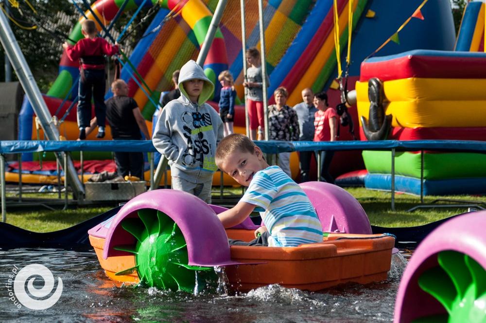 łódeczki atrakcja na piknik firmowy - konin, łódź, warszawa, poznań