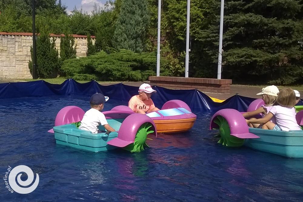 wodne atrakcje dla dzieci - wynajem atrakcji