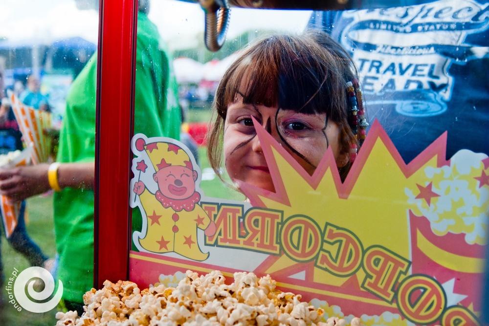 popcorn dla dzieci na piknik firmowy