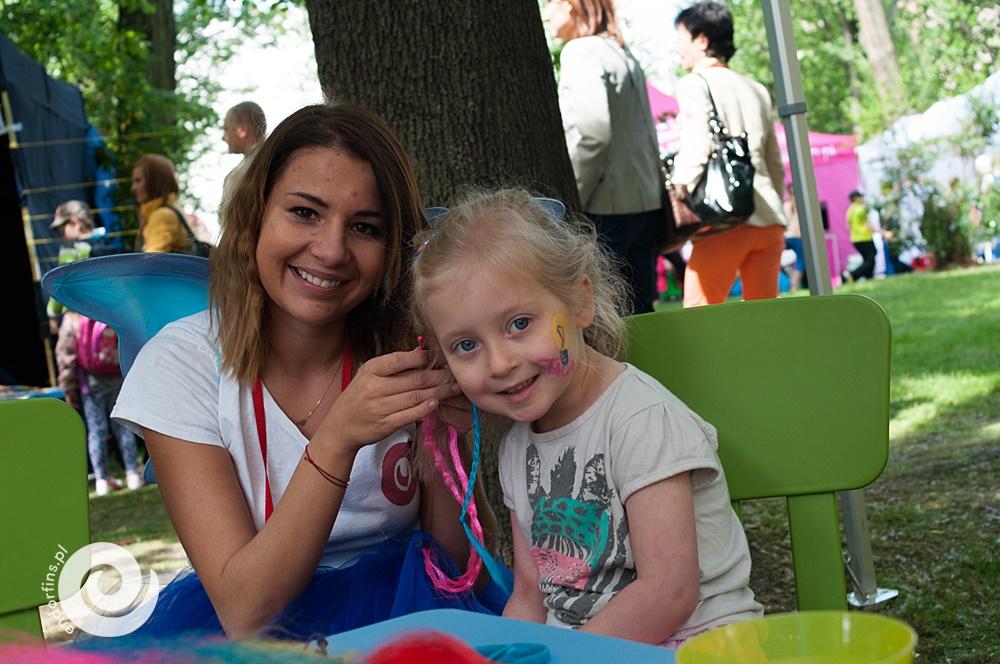 zaplatanie warkoczyków - orgnizacja imprez dla dzieci